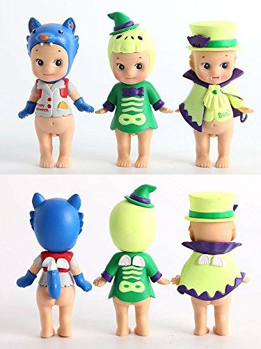 6 pcs Sonny Angel set Halloween series sonny angel Kewpie baby dolls mini figure toys