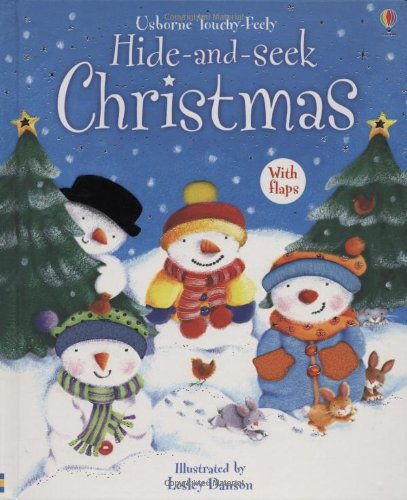 Hide and Seek Christmas, with Flaps (Usborne Touchy-Feely)
