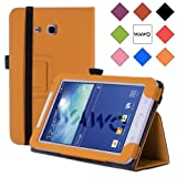 WAWO Samsung Tab 3 Lite 7.0 Inch Tablet Folio Case Cover - Orange