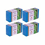 Khadi Mauri Mint Soap Pack of 4 Ayurvedic Natural Handcrafted Herbal Soaps