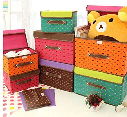 Boîte de rangement Boîte à gants Box In Box-princesse point de Vague Café