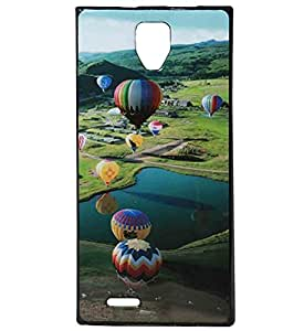 Hot Air Exclusive Rubberised Back Case Cover For Micromax A99 Canvas Xpress