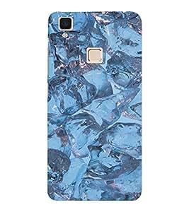 EPICCASE Ice cubes Mobile Back Case Cover For VIVO V3 (Designer Case)