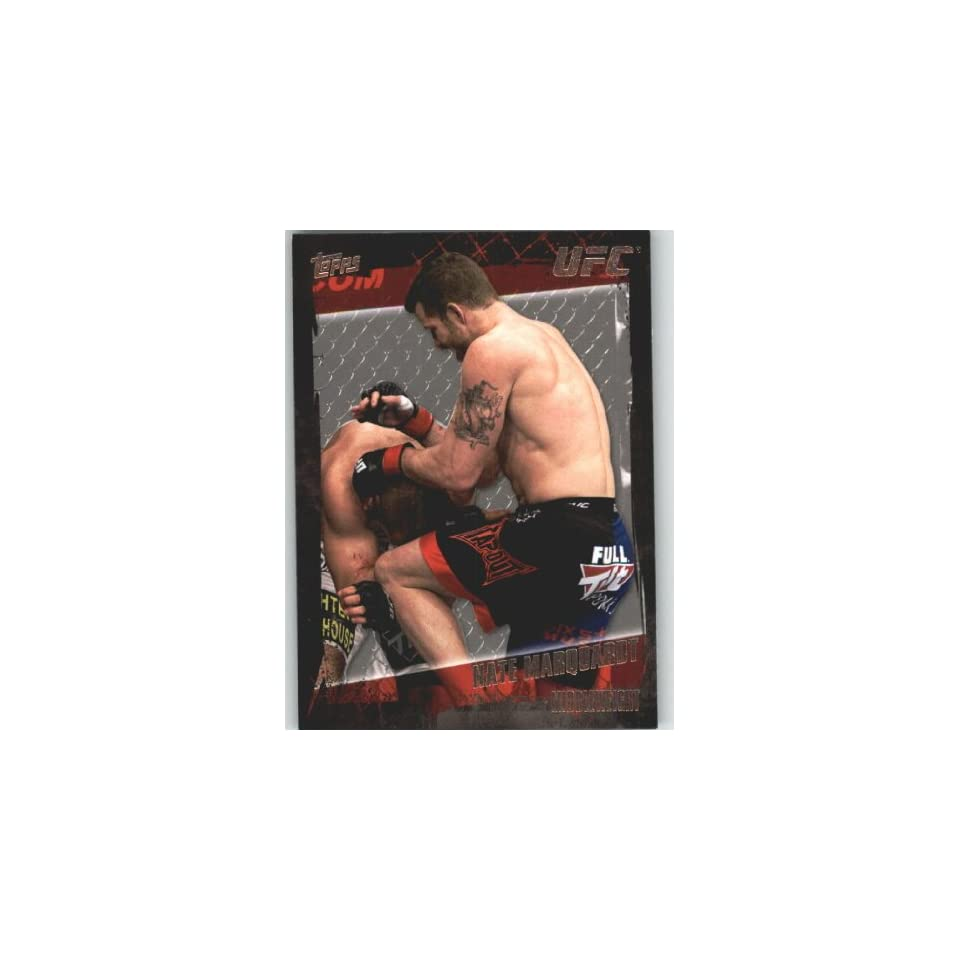 2010 Topps UFC Trading Card # 74 Nate Marquardt (Ultimate
