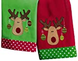 Tag Merry Moose Guest Towels, Set of 2