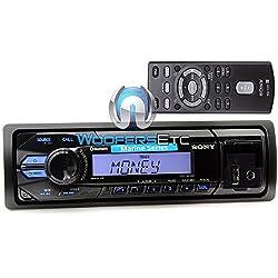 See DSX-M50BT - Sony In-Dash 1-DIN Marine Digital Media Receiver with Bluetooth Details
