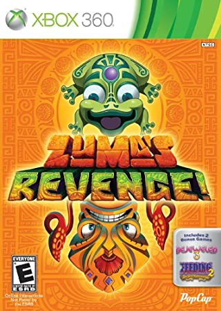 Zuma's Revenge! with Bejeweled 3 and Feeding Frenzy 2
