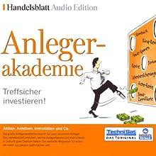 Anlegerakademie: Treffsicher investieren! Hörbuch von  div. Gesprochen von:  N.N.