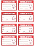 School Visitor Badge Security Stickers Book