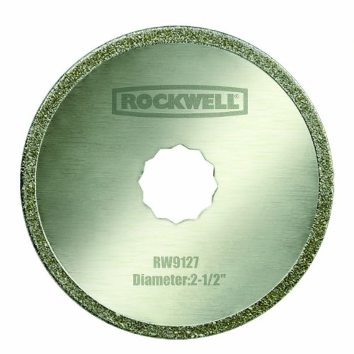 Rockwell RW9127 Sonicrafter 2-1/2-Inch Diamond Coated saw blade, 1-Piece (Sonicrafter Diamond Blade compare prices)