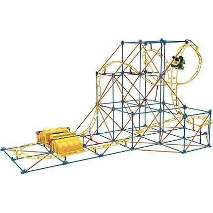 K'NEX Hyperspeed Hangtime Roller Coaster Building ...