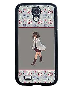 Printvisa 2D Printed Girly Designer back case cover for Samsung Galaxy S4 I9500 - D4267