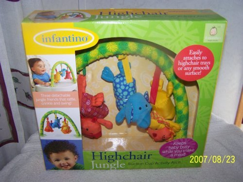Infantino Highchair Jungle - 1