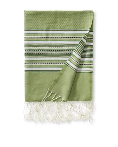 Fouta Bath Towel, Aztec Green