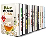 img - for Detox and Weight Loss Box Set (12 in 1): Tea Cleanse, Slow Cooking, Best Low Carb Vegetarian, Air Fryer, Soup Recipes, Cheesecakes, Burgers and Other Healthy Meals (Special Cleanse & Detox Program) book / textbook / text book