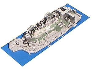 エスティパース 軍艦島ペーパークラフト