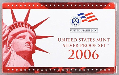 2006 S U.S. Mint 10-coin Silver Proof Set - OGP box & COA Proof (Us Mint Box compare prices)