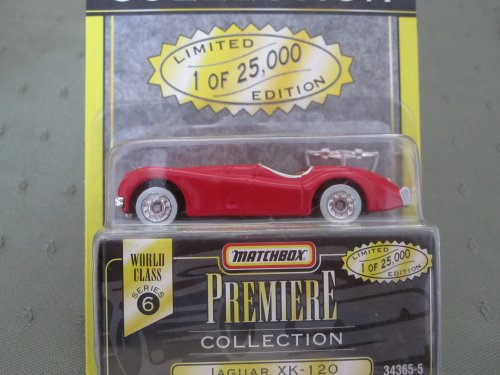 Jaguar XK-120 (red) Matchbox Premiere Series 6 #34363-5 - 1