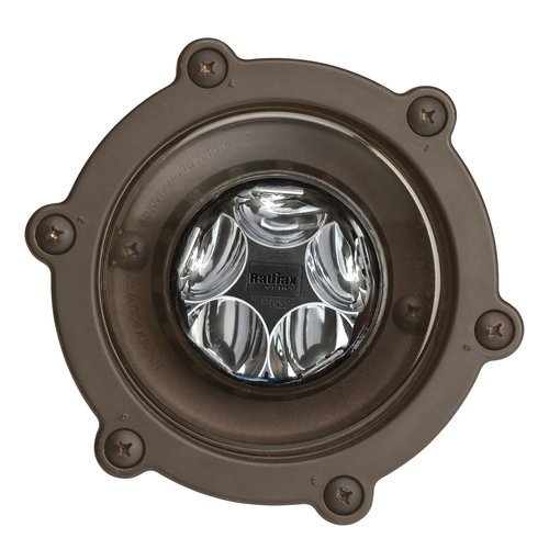 Kichler 16037-27 Led 12 Volt 14 Watt 35 Degree 2700K Outdoor Well Light, Bronzed Brass