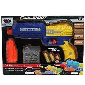 SAFFIRE Gun with Jelly Shots and Soft Foam Bullets