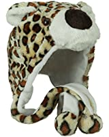 Fleece ML Animal Hat - Leopard W04S50F