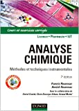 img - for Analyse chimique (French Edition) book / textbook / text book