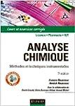 Analyse chimique : M�thodes et techni...