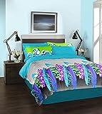 Spaces Bohochic Cotton Double Comforter - Blue