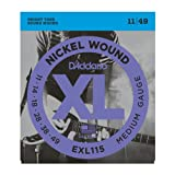 D'Addario EXL115 Blues/jazz rock electric guitar strings 11-49 (2 PACKS)