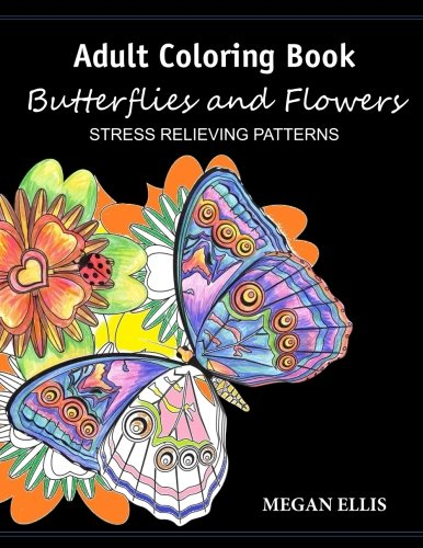 adult-coloring-book-butterflies-and-flowers-stress-relieving-patterns
