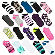 20 Pairs Ladies Athletic No-Show Low…