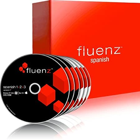 Fluenz Spanish (Spain) 1+2+3 with supplemental Audio CDs