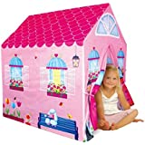 Cottage Playhouse Girl City House Kids Secret Garden Pink Play Tent