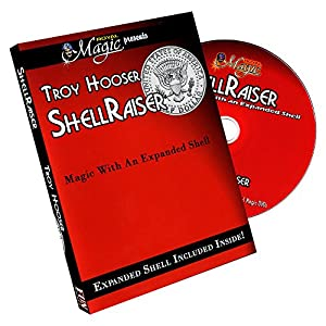 Murphy's Magic Shellraiser by Troy Hooser (with Shell Coin) by Troy Hooser Magic Trick Products-DVD