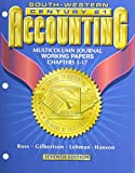 Working Papers Chapters 1-26 for Ross/Gilbertson/Lehman/Hansons Century 21 Accounting Multicolumn Journal Approach, 7th