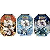 Pokemon-EX Spring 2012 Tin Bundle (includes Reshiram, Zekrom & Kyurem)