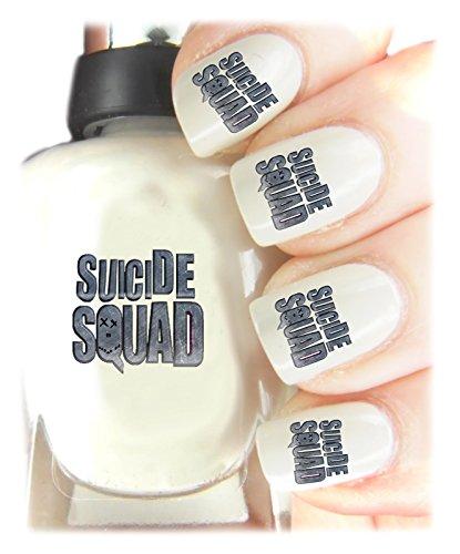 Suicide Squad Nail Art Facile da usare, alta qualità Nail Art adesivi per ogni occasione. Ideale Regalo di natale/regalo-Grande calza