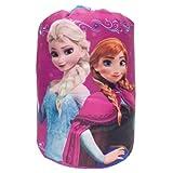 Disney Frozen Indoor Sleeping Bag in printed Drawstring Bag