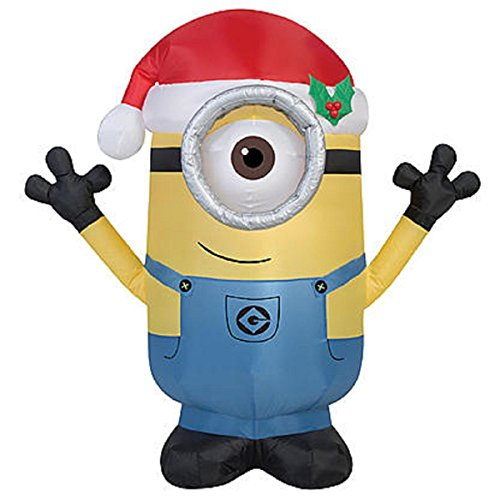Christmas Inflatable Minion Carl Yard Prop Decoration Despicable Me - Minions