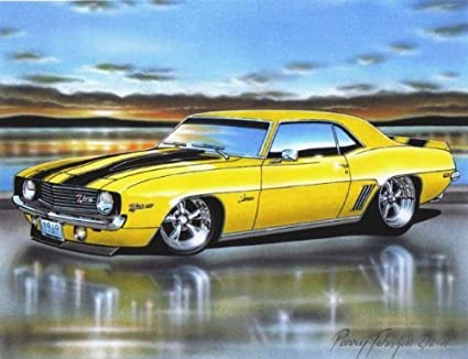 Muscle Car Paintings More Information
