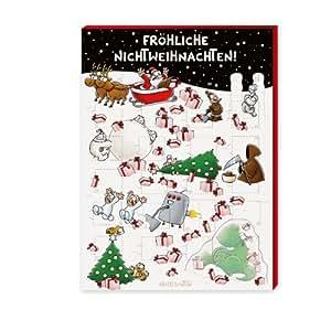"""Nichtlustig Adventskalender """"Fröhliche Nichtweihnachten!"""", 1er Pack (1 x 75 g)"""