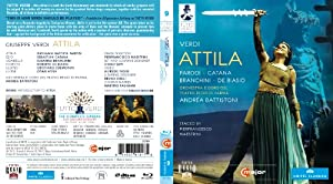 Verdi: Attila (2010) (Parodi/ Catana/ Branchini/ Andrea Battistoni/ Pier Francesco Maestrini) (C Major: 721704) [Blu-ray] [2012][Region A & B]