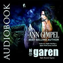 Garen: Shifter Romantic Suspense: Rubicon International, Volume 1 Audiobook by Ann Gimpel Narrated by Gregory Salinas