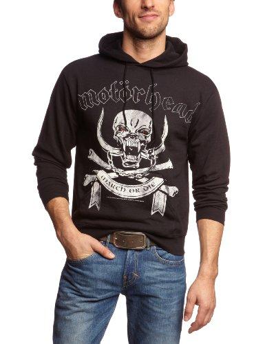 Motörhead - Motorhead - March Or Die, Maglia da uomo,  manica lunga, collo con cappuccio, nero(schwarz), L