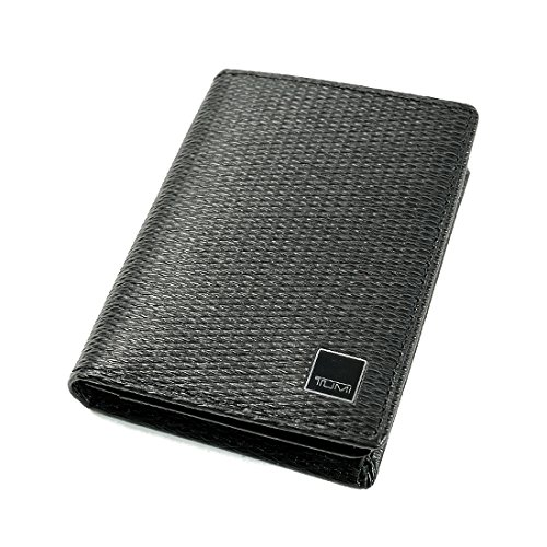 TUMI トゥミ MONACO 名刺入れ/カードケース GUSSETED CARD CASE WITH ID BLACK ブラック 18256D