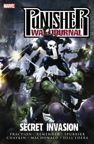 Punisher War Journal Volume 5: Secret Invasion TPB (Graphic Novel Pb) by Fraction, Matt, Remender, Rick, Spurrier, Simon (2009) Paperback (Marvel Secret Invasion Tpb compare prices)