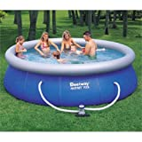 Bestway 12ft x 36in Fast Set Swimming Pool with 330gal pump #57166