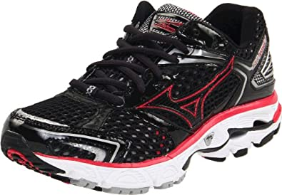 Mizuno Women's Wave Inspire 7 Running Shoe,Anthracite/Raspberry,12 M US