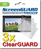 GUARMOR - 3x Canon PowerShot A2300 IS Digital Camera Premium Clear LCD Screen Protector Cover Guard Shield Film Kits (3 pieces)