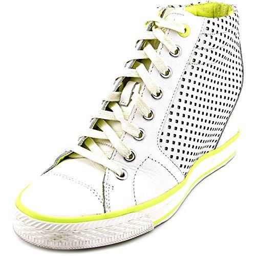 DKNY Cindy Laser Donna US 9.5 Bianco Scarpe ginnastica